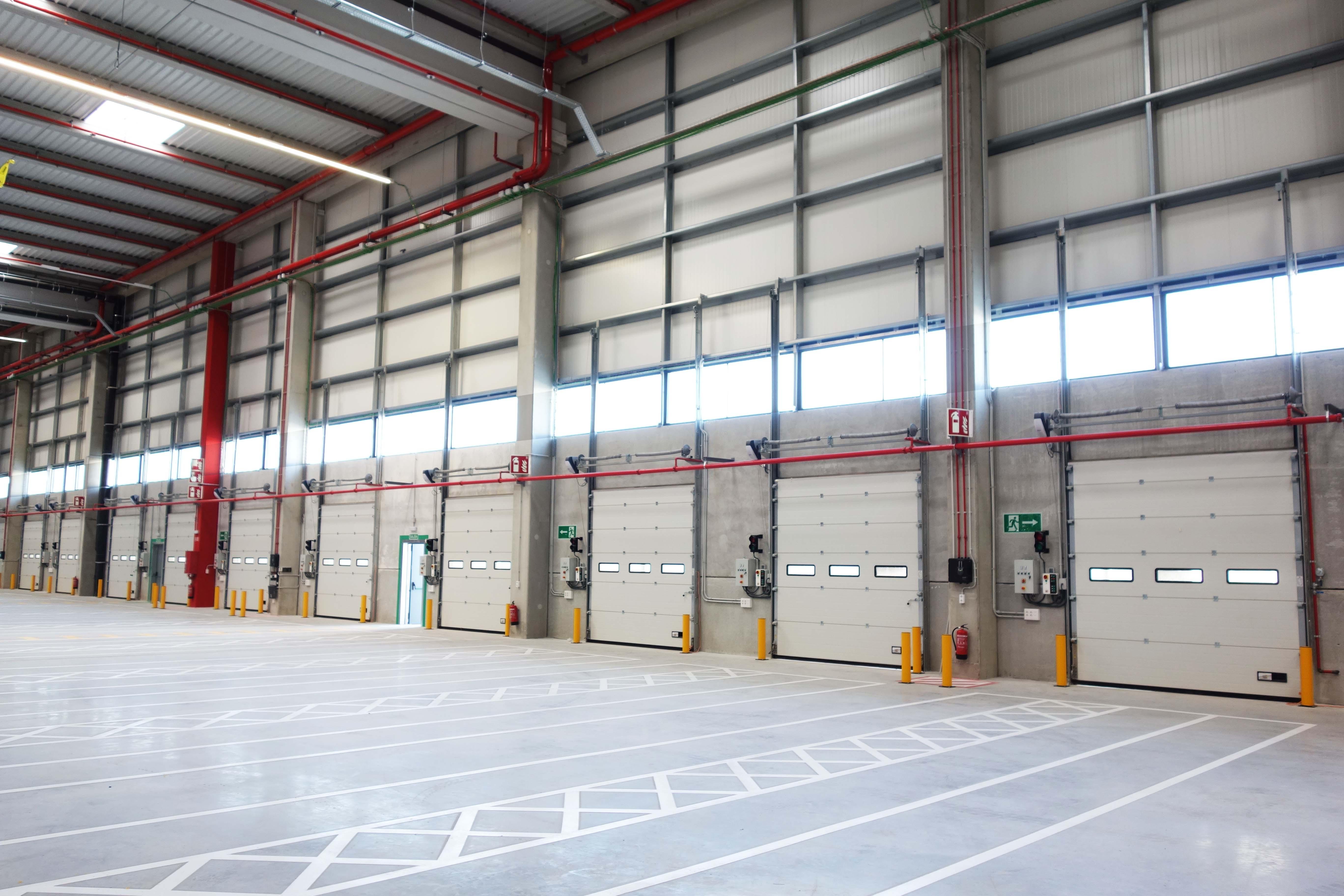 INKEMA Sectional Doors and Dock Levellers
